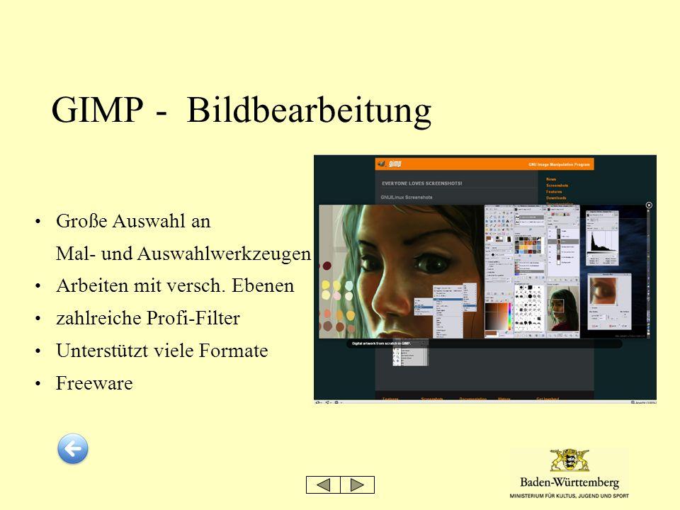 GIMP - Bildbearbeitung