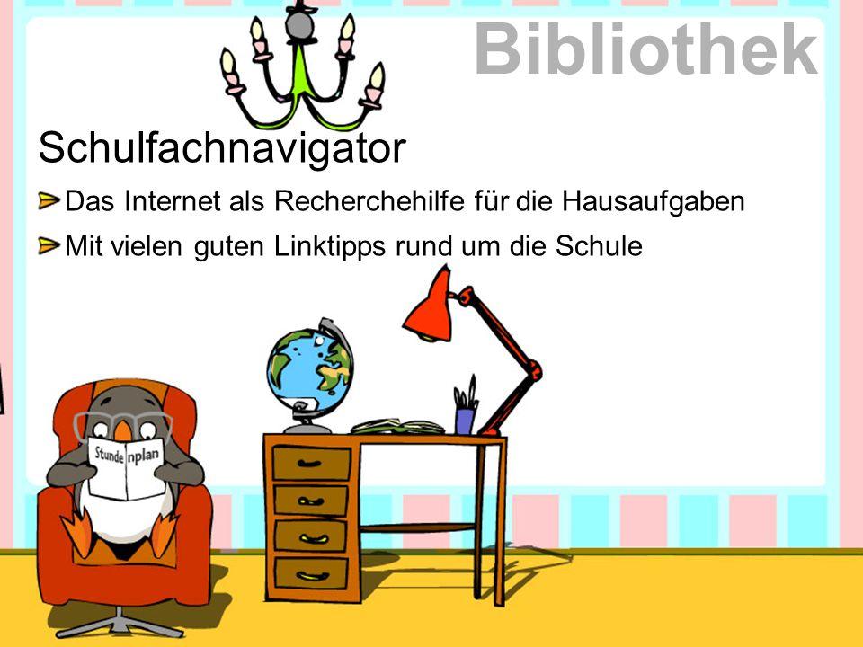 Bibliothek Schulfachnavigator