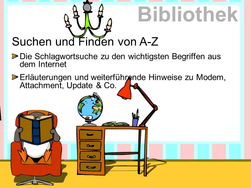 Bibliothek Suchen und Finden von A-Z