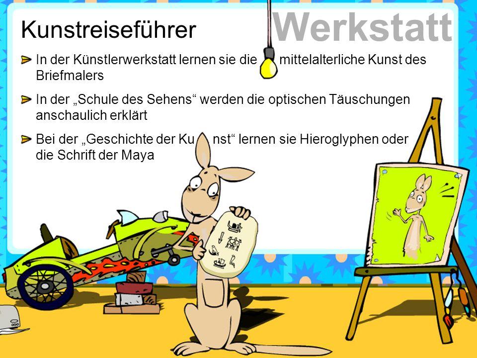 Werkstatt Kunstreiseführer