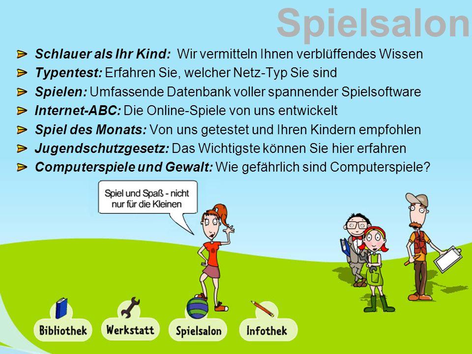 Spielsalon Schlauer als Ihr Kind: Wir vermitteln Ihnen verblüffendes Wissen. Typentest: Erfahren Sie, welcher Netz-Typ Sie sind.