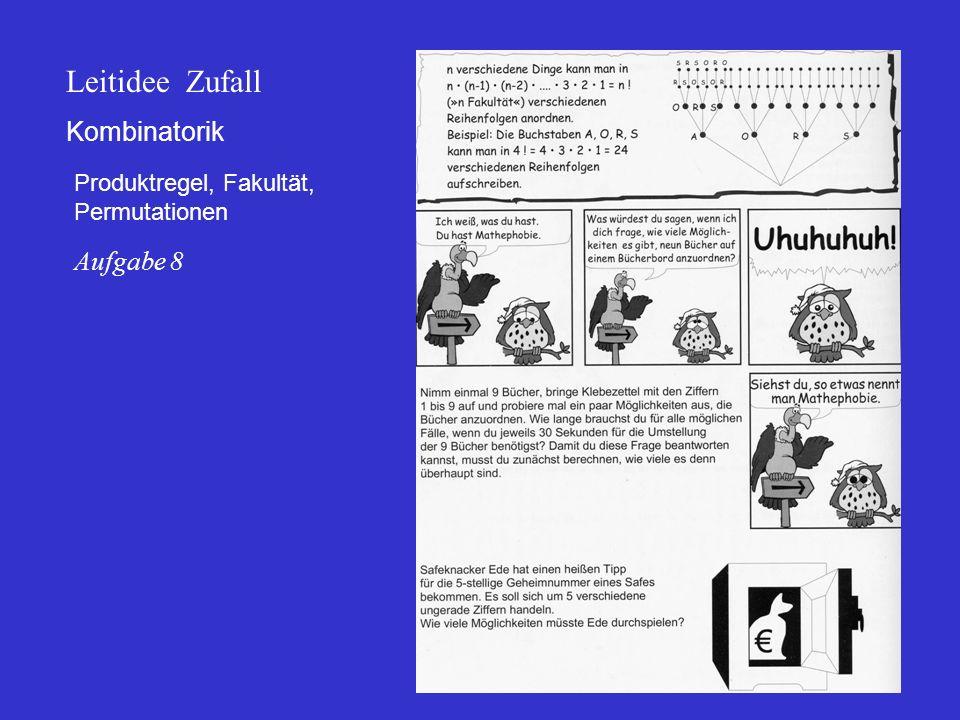Leitidee Zufall Kombinatorik Aufgabe 8