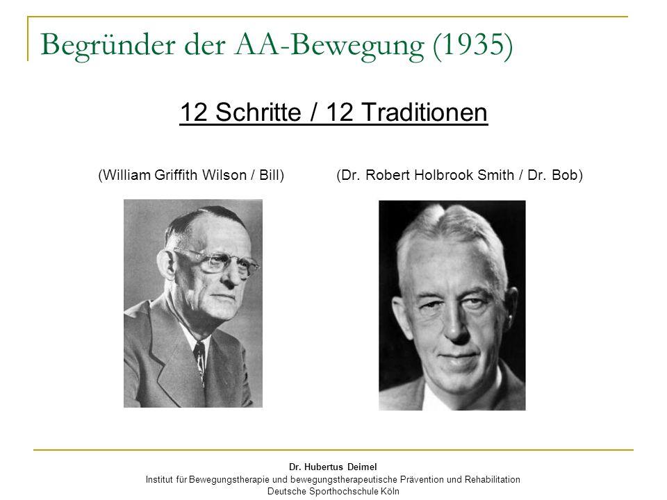 Begründer der AA-Bewegung (1935)