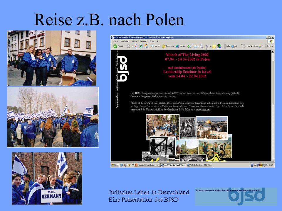 Reise z.B. nach Polen