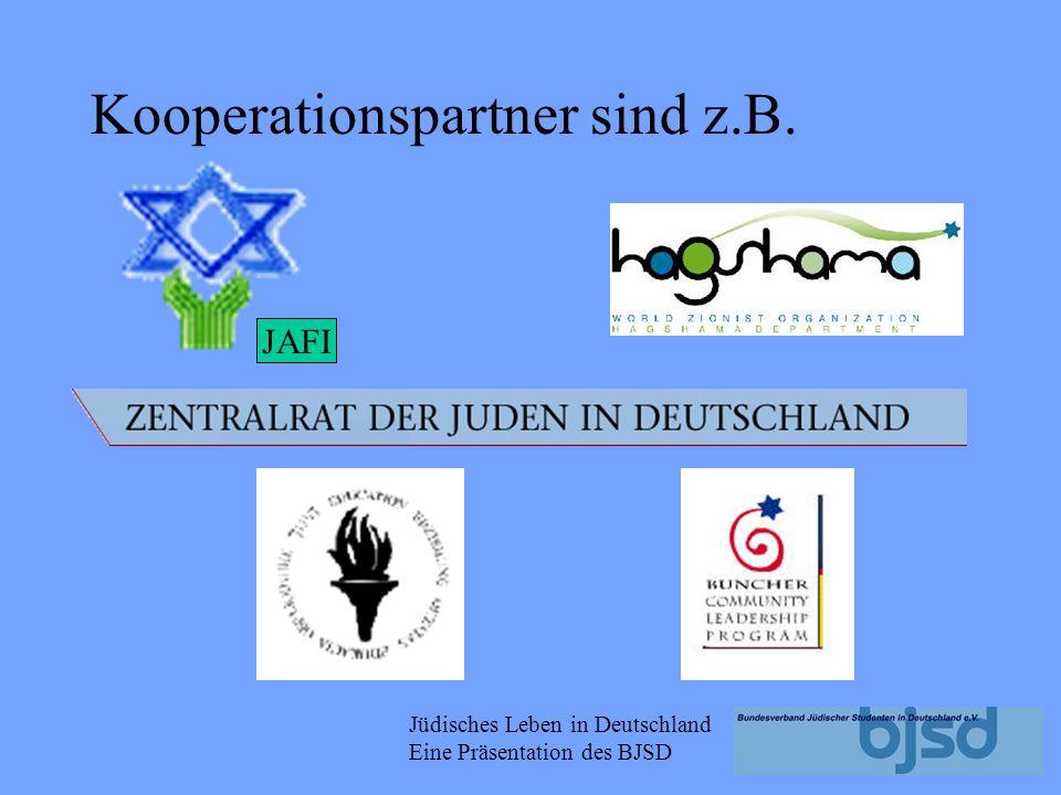 Kooperationspartner sind z.B.
