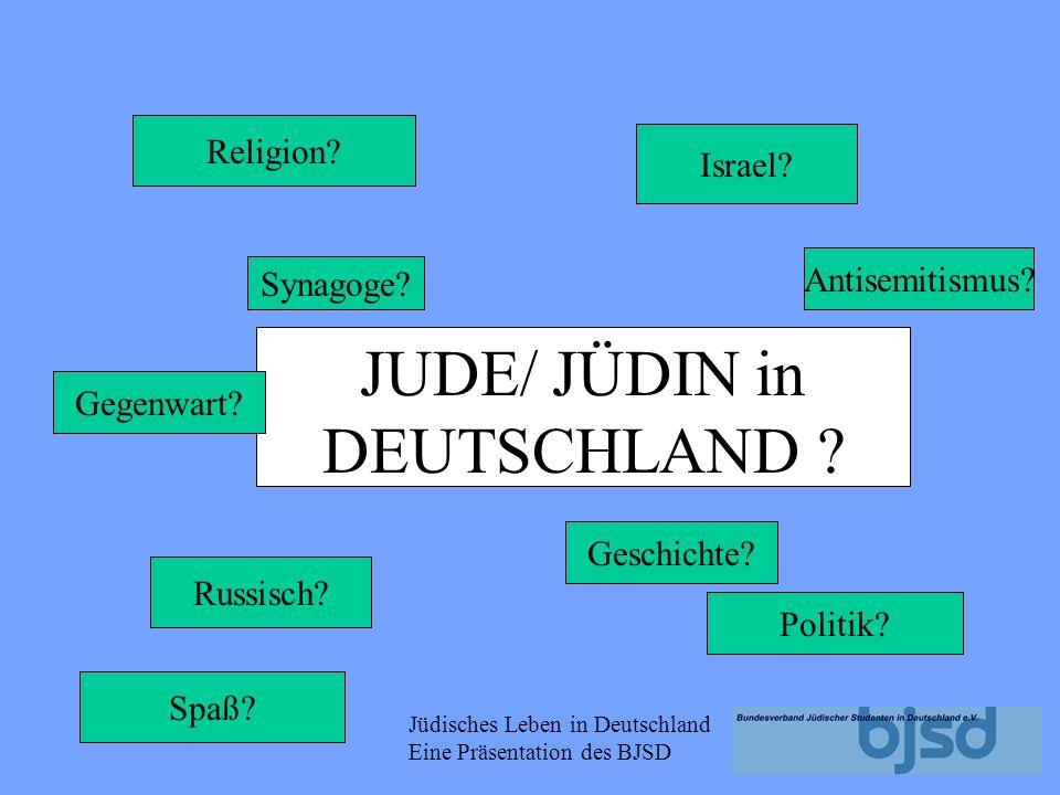 JUDE/ JÜDIN in DEUTSCHLAND