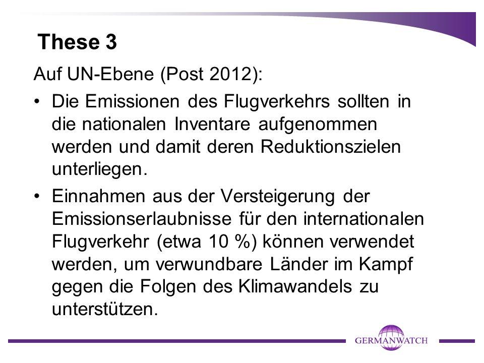 These 3 Auf UN-Ebene (Post 2012):