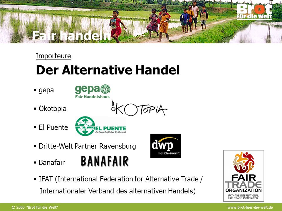 Importeure Der Alternative Handel