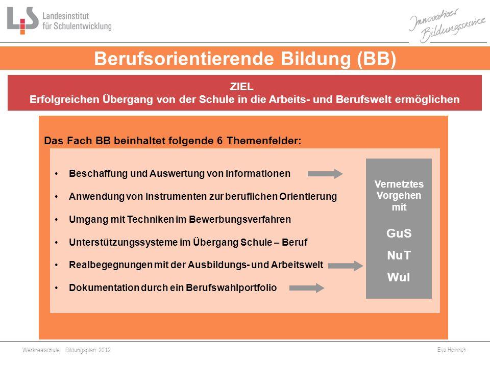 Berufsorientierende Bildung (BB)