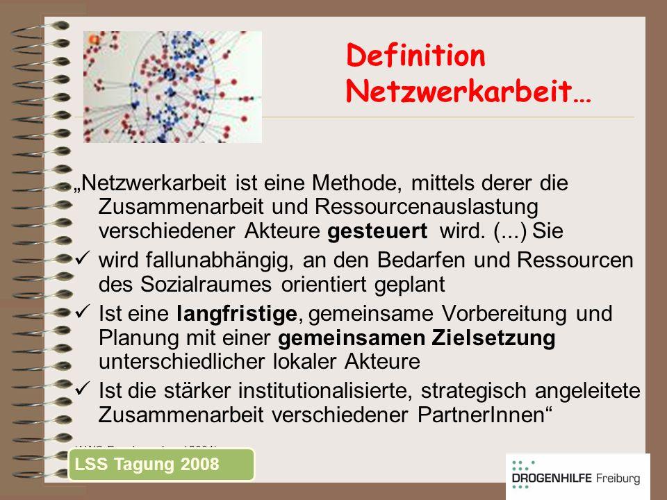 Definition Netzwerkarbeit…