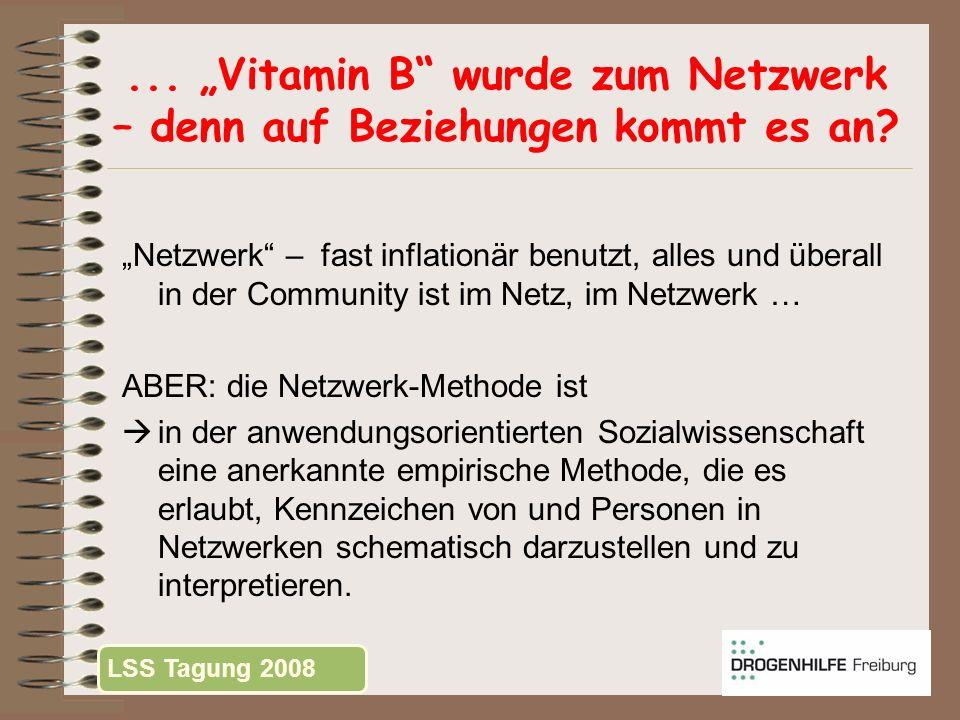 """... """"Vitamin B wurde zum Netzwerk – denn auf Beziehungen kommt es an"""