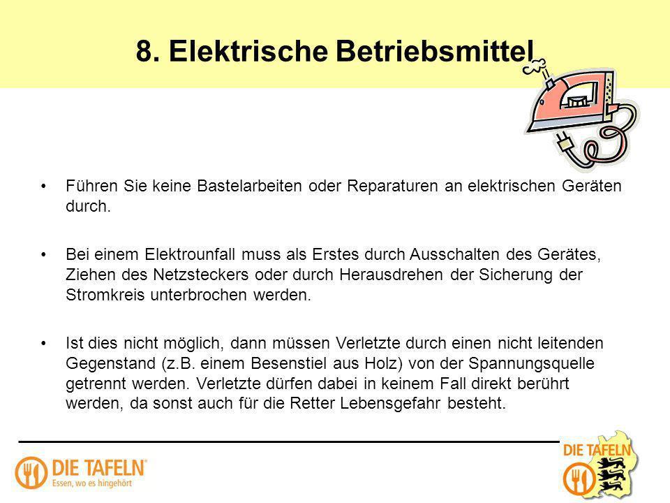 8. Elektrische Betriebsmittel