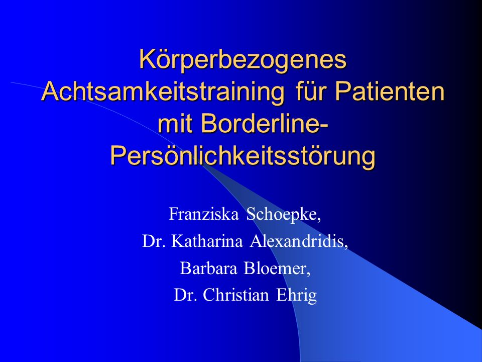 Dr. Katharina Alexandridis,