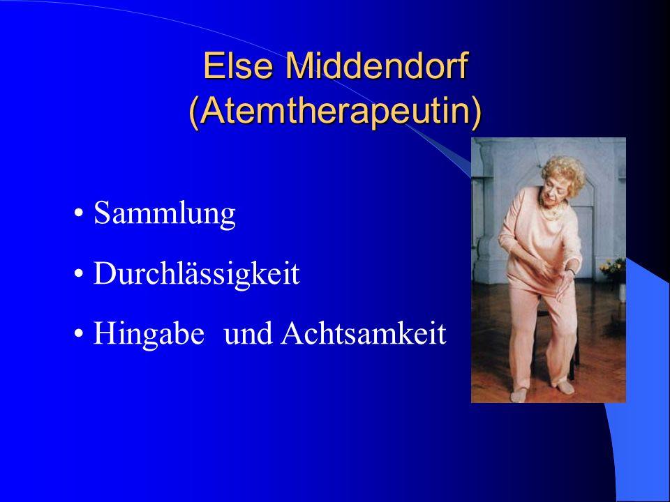 Else Middendorf (Atemtherapeutin)