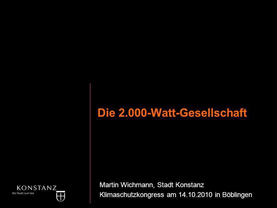 Die 2.000-Watt-Gesellschaft