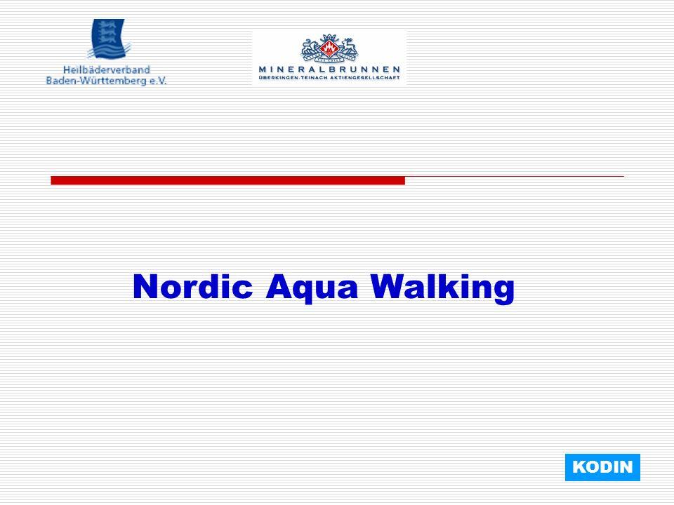Nordic Aqua Walking KODIN