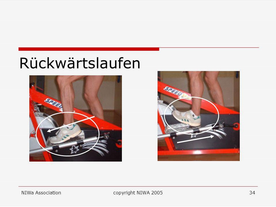 Rückwärtslaufen -> Schienbeinmuskel NIWa Association