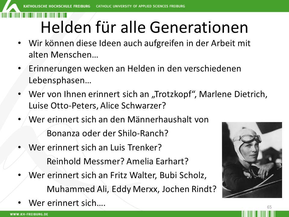 Helden für alle Generationen