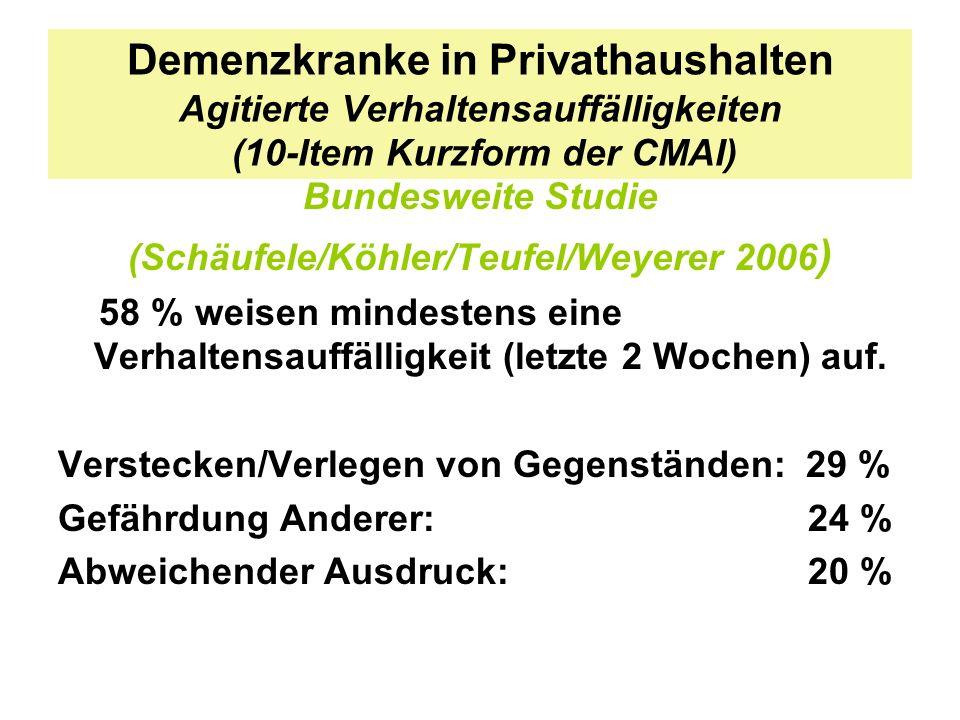 (Schäufele/Köhler/Teufel/Weyerer 2006)