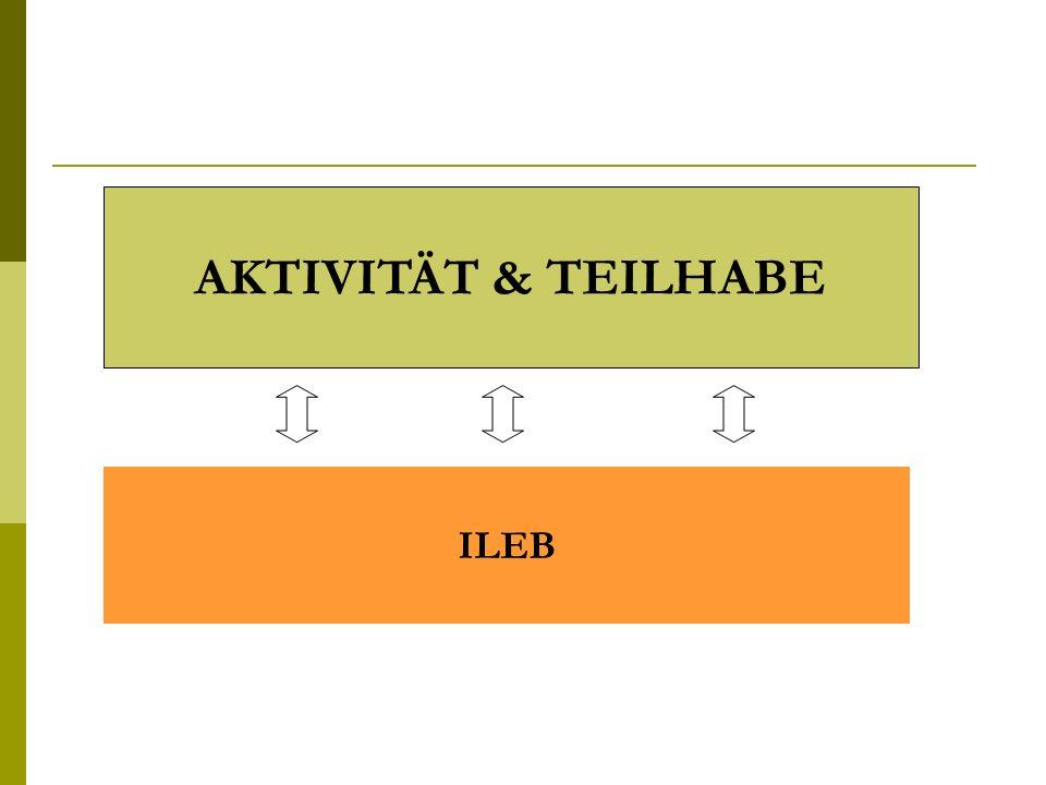AKTIVITÄT & TEILHABE ILEB