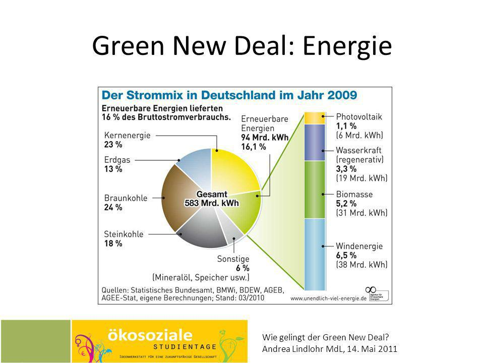 Green New Deal: Energie