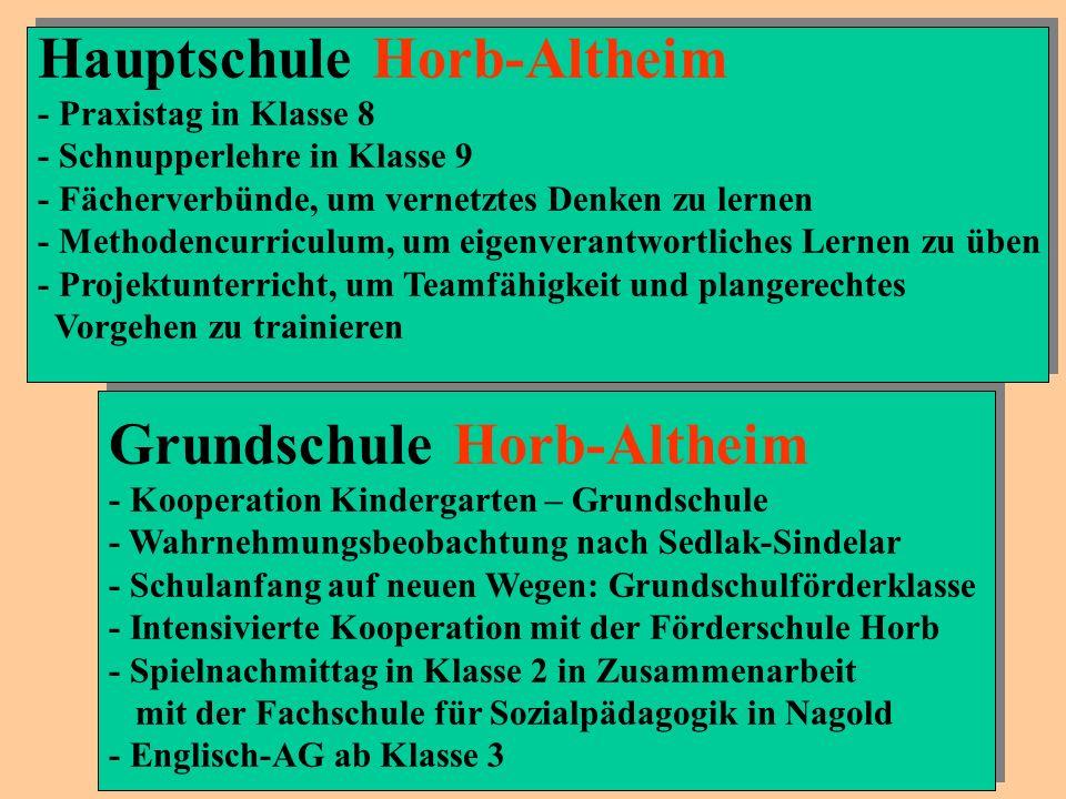 Hauptschule Horb-Altheim