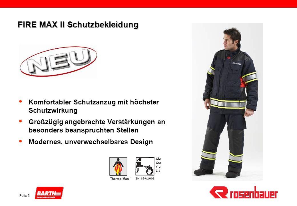 FIRE MAX II Schutzbekleidung