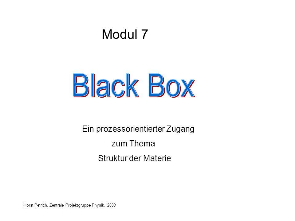 Black Box Modul 7 zum Thema Struktur der Materie