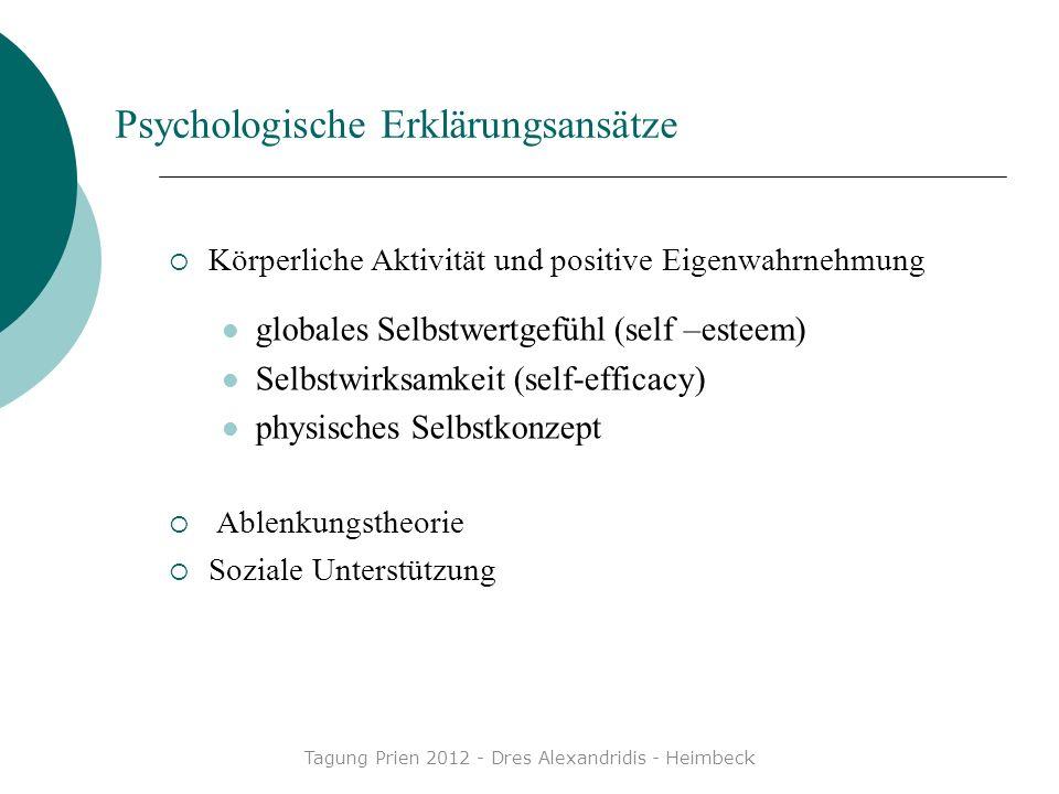 Psychologische Erklärungsansätze