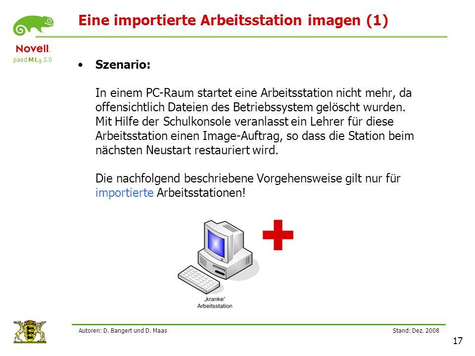 Eine importierte Arbeitsstation imagen (1)