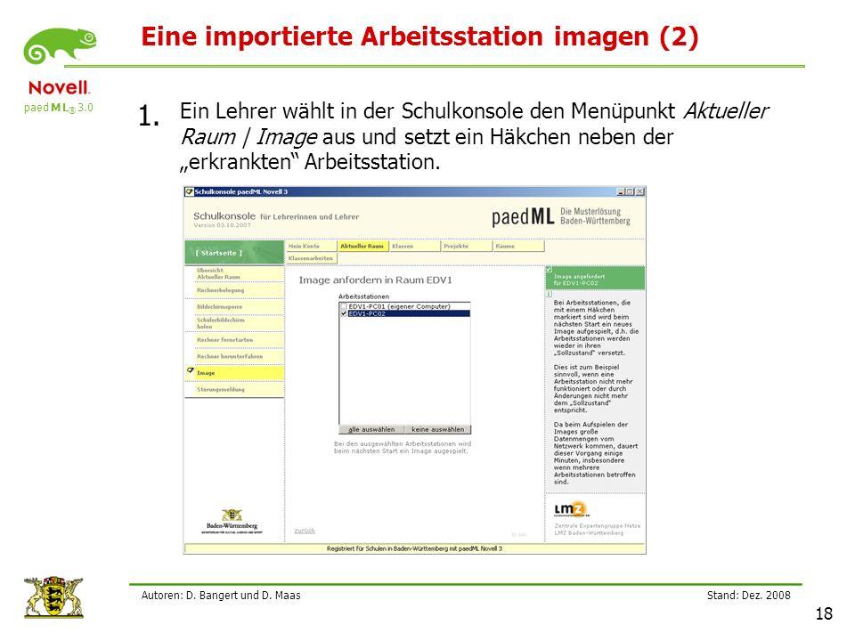 Eine importierte Arbeitsstation imagen (2)