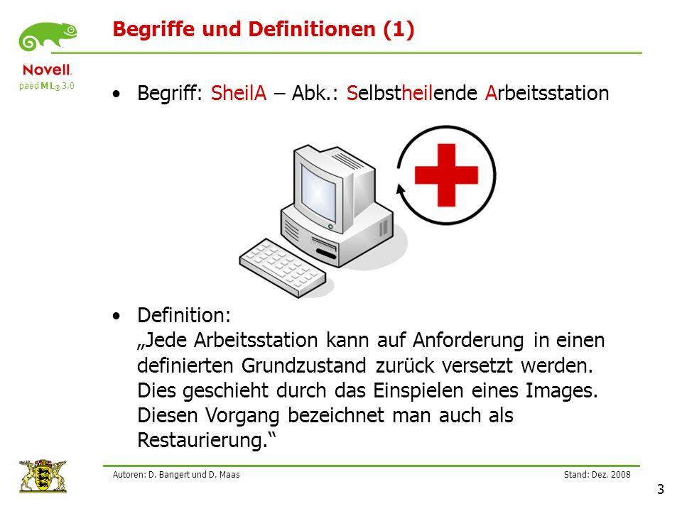 Begriffe und Definitionen (1)