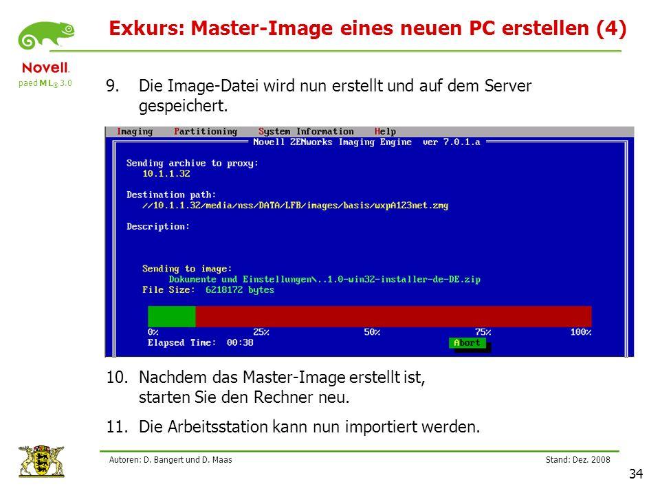 Exkurs: Master-Image eines neuen PC erstellen (4)