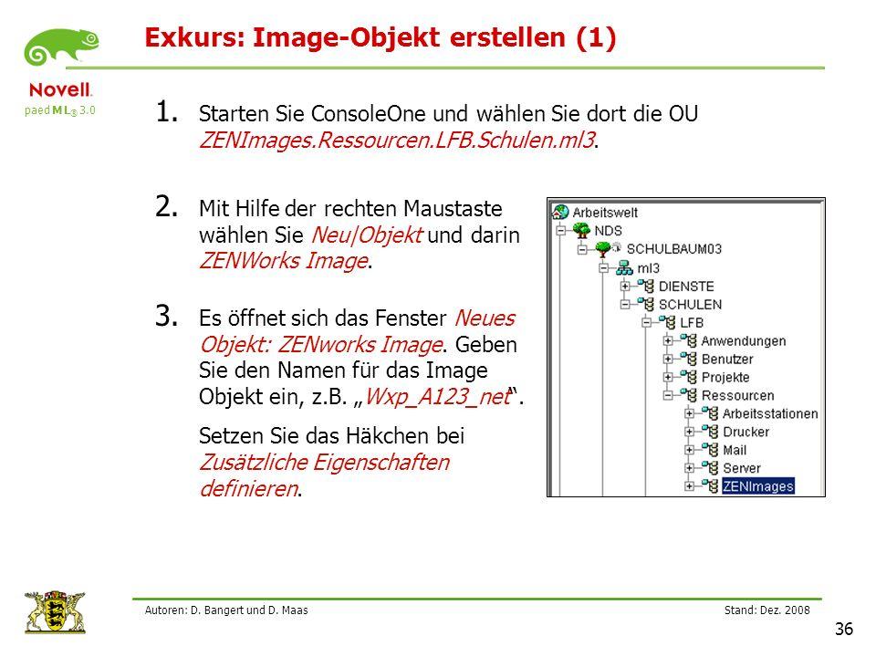 Exkurs: Image-Objekt erstellen (1)