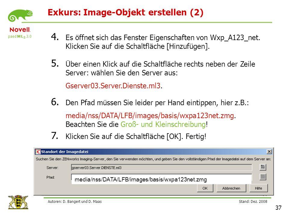 Exkurs: Image-Objekt erstellen (2)