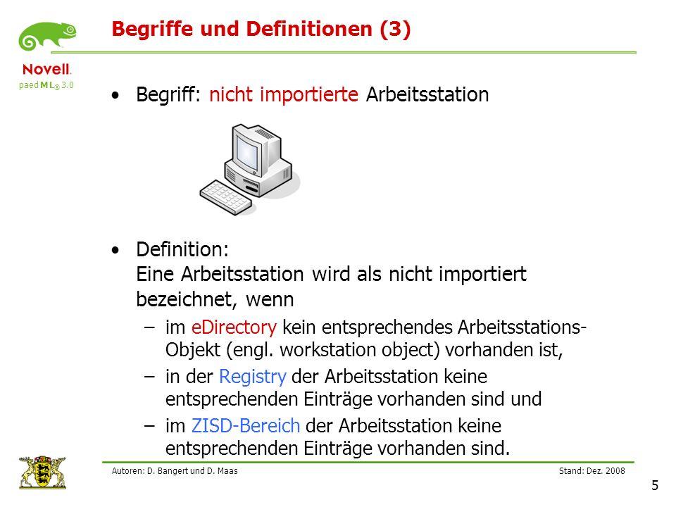 Begriffe und Definitionen (3)
