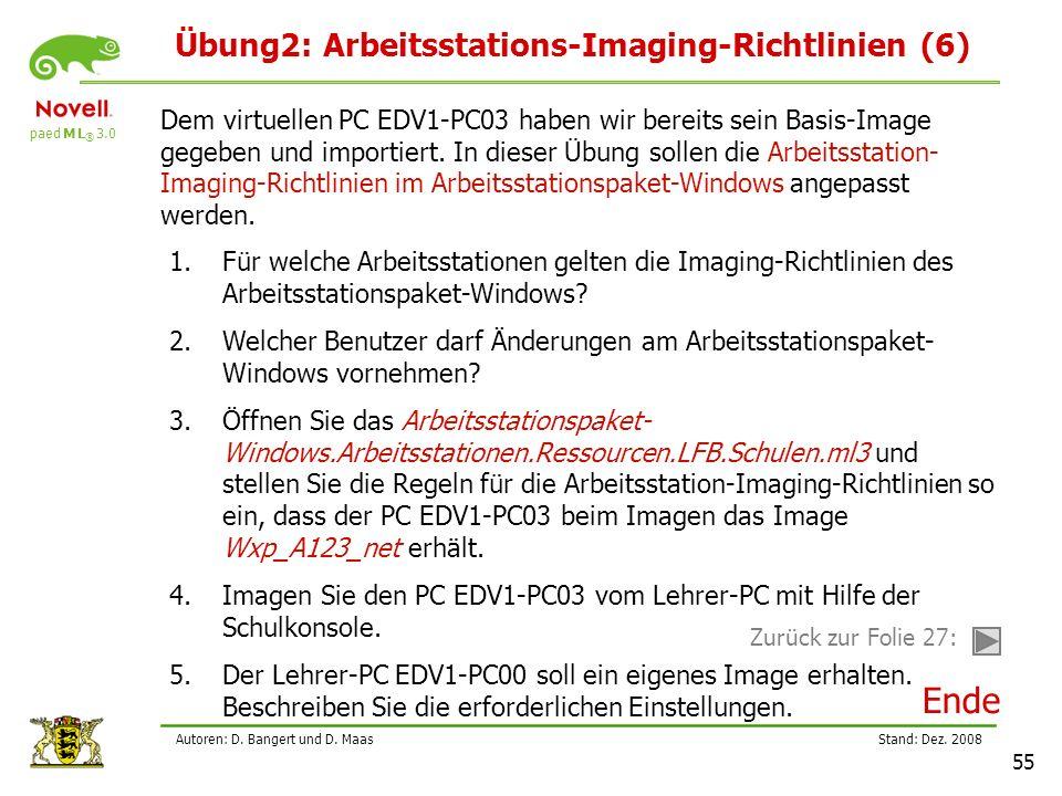 Übung2: Arbeitsstations-Imaging-Richtlinien (6)