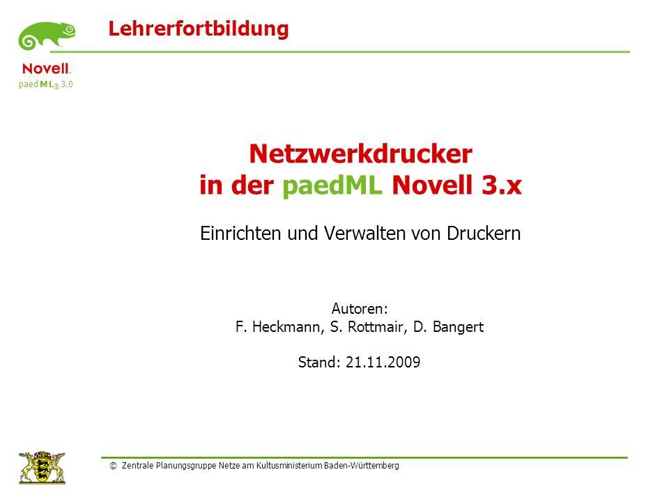 Autoren: F. Heckmann, S. Rottmair, D. Bangert Stand: 21.11.2009