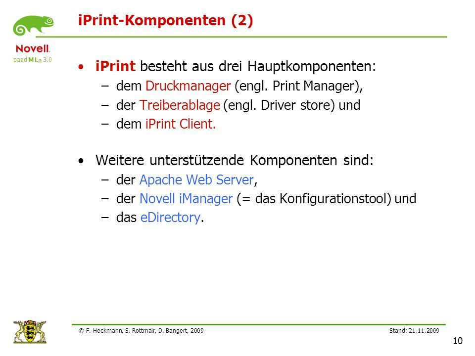 iPrint-Komponenten (2)