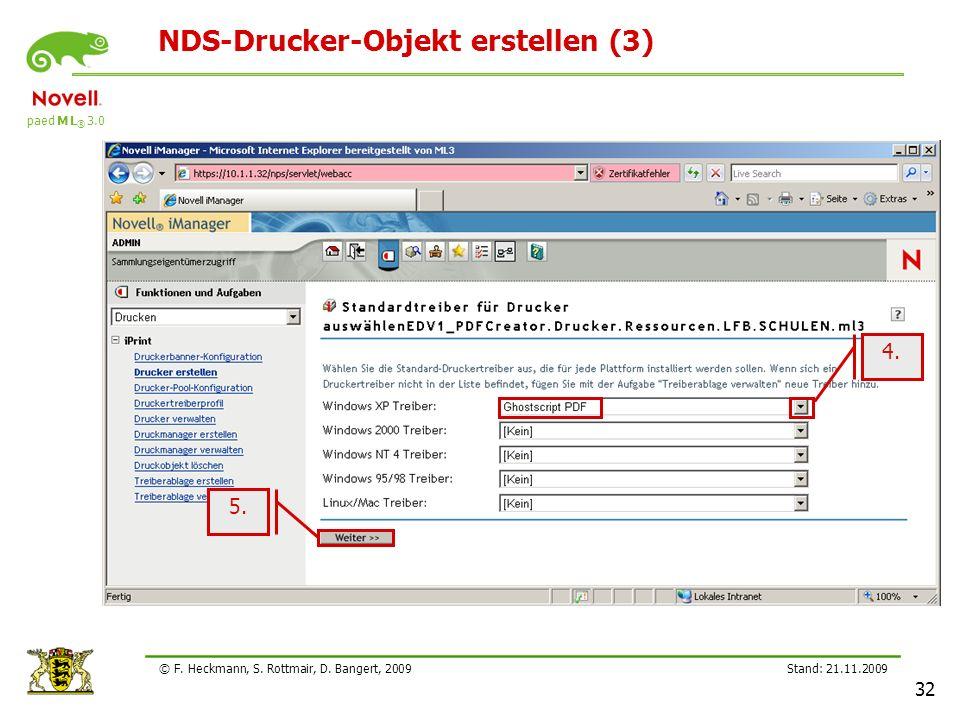 NDS-Drucker-Objekt erstellen (3)