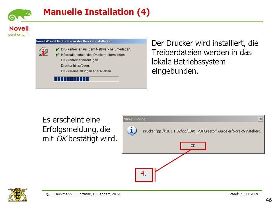 Manuelle Installation (4)