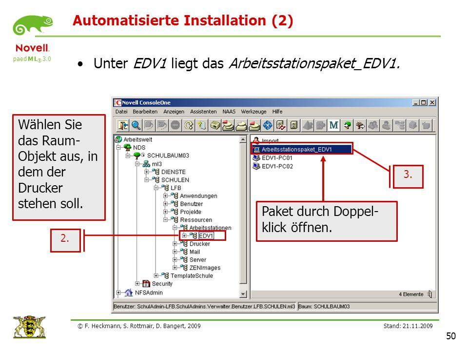 Automatisierte Installation (2)