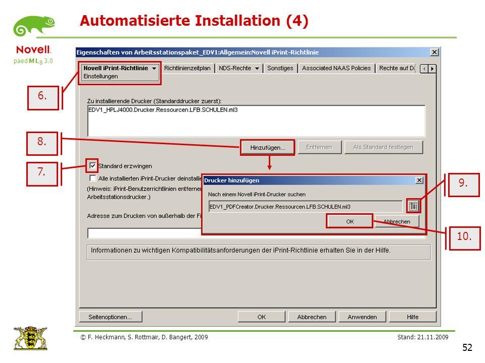 Automatisierte Installation (4)