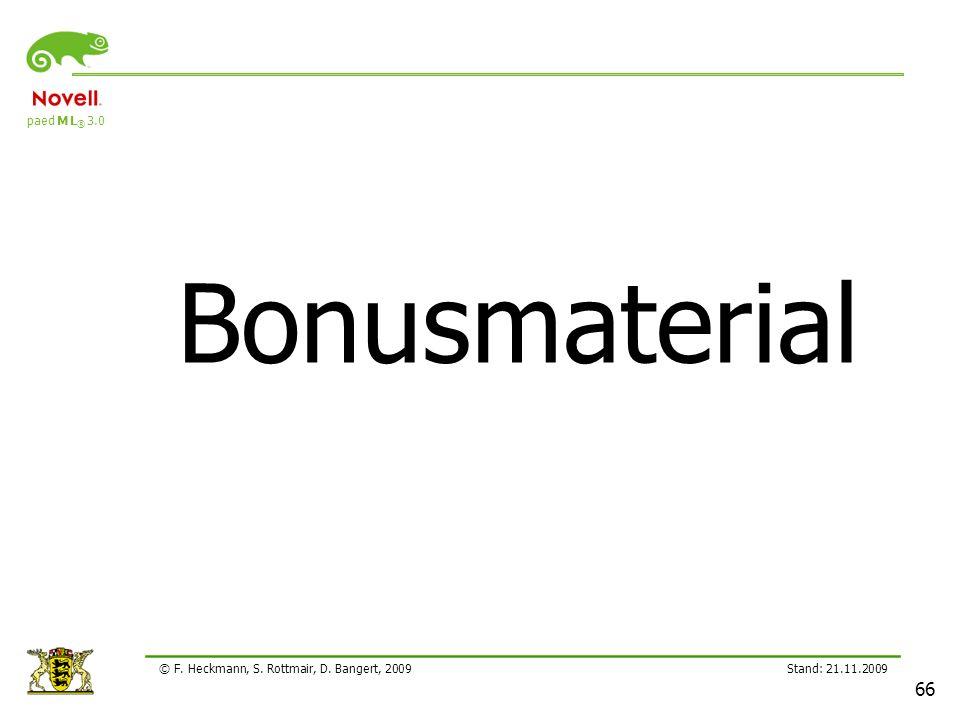 Bonusmaterial Lehrerfortbildung 21.11.2209