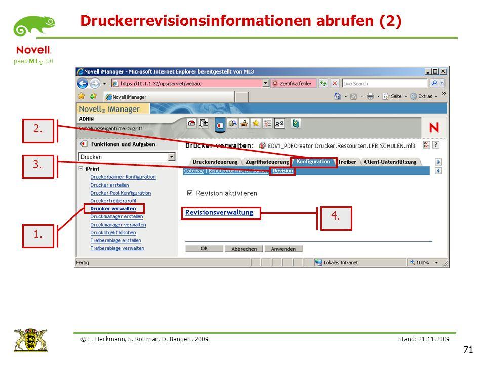 Druckerrevisionsinformationen abrufen (2)