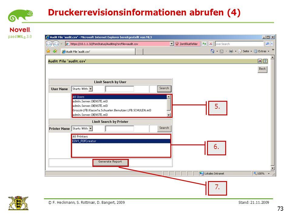 Druckerrevisionsinformationen abrufen (4)