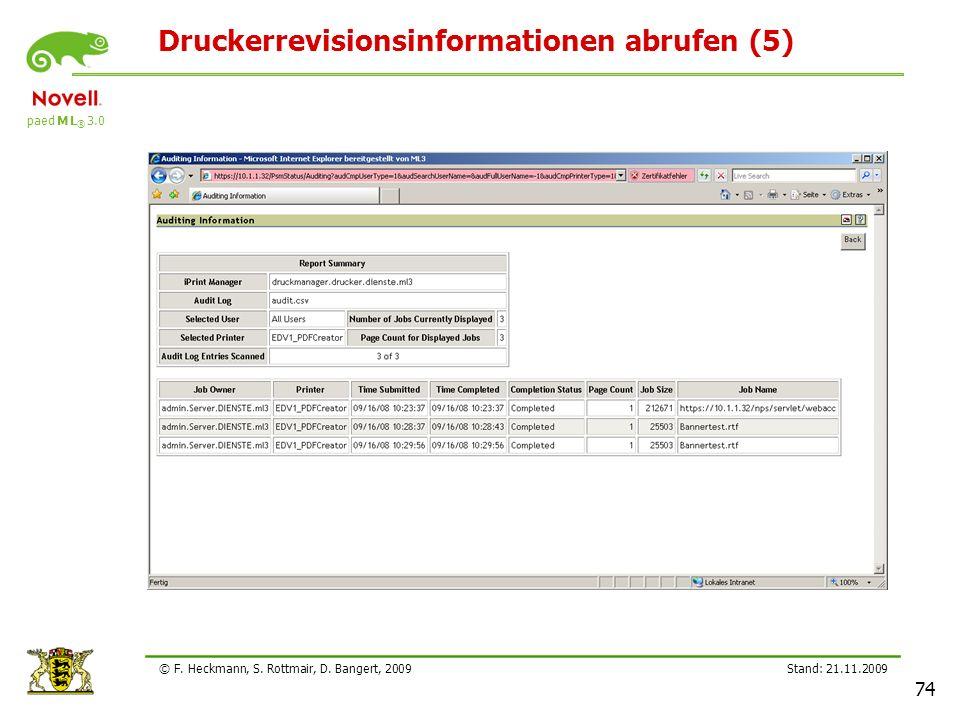 Druckerrevisionsinformationen abrufen (5)