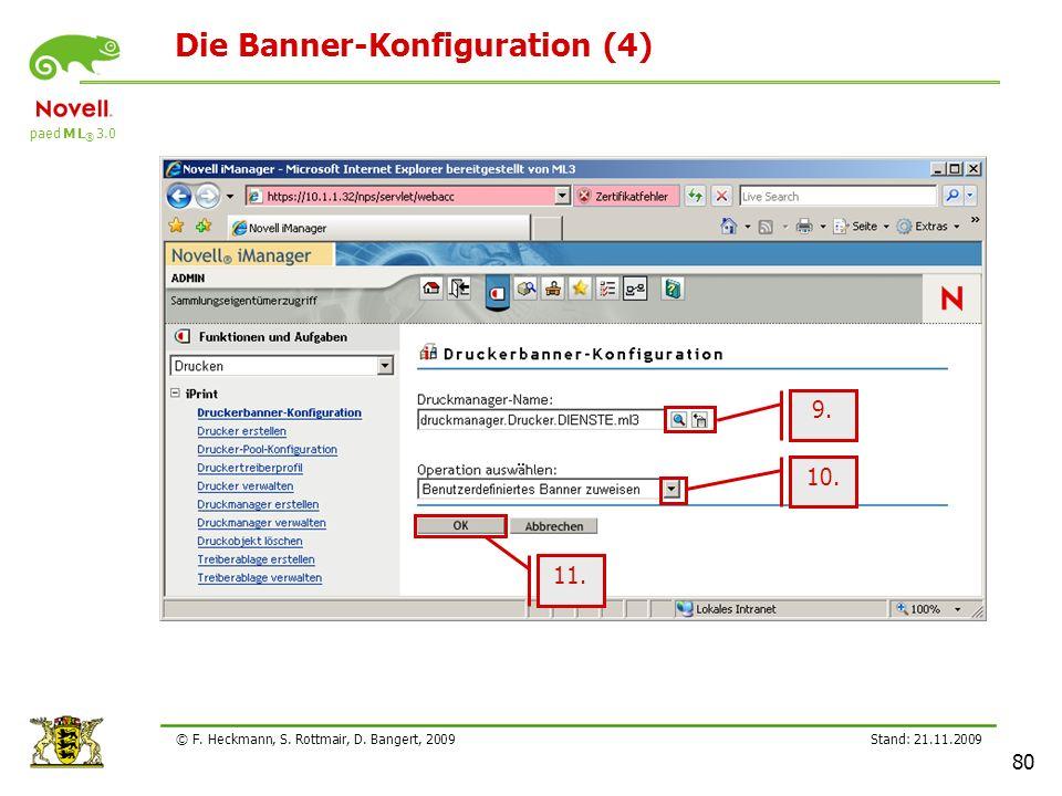 Die Banner-Konfiguration (4)