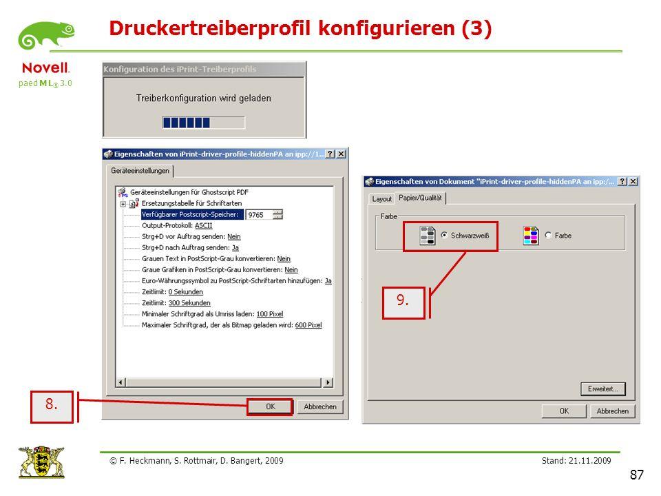 Druckertreiberprofil konfigurieren (3)