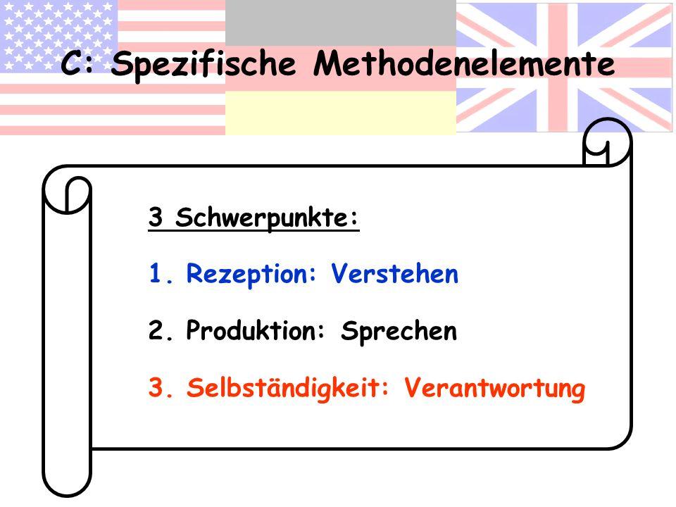C: Spezifische Methodenelemente
